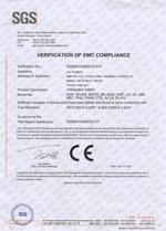 VERIFICATION OF EMC COMPLIANCE