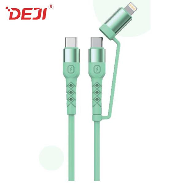 德基PD USB数据线快速充电三合一数据线厂家